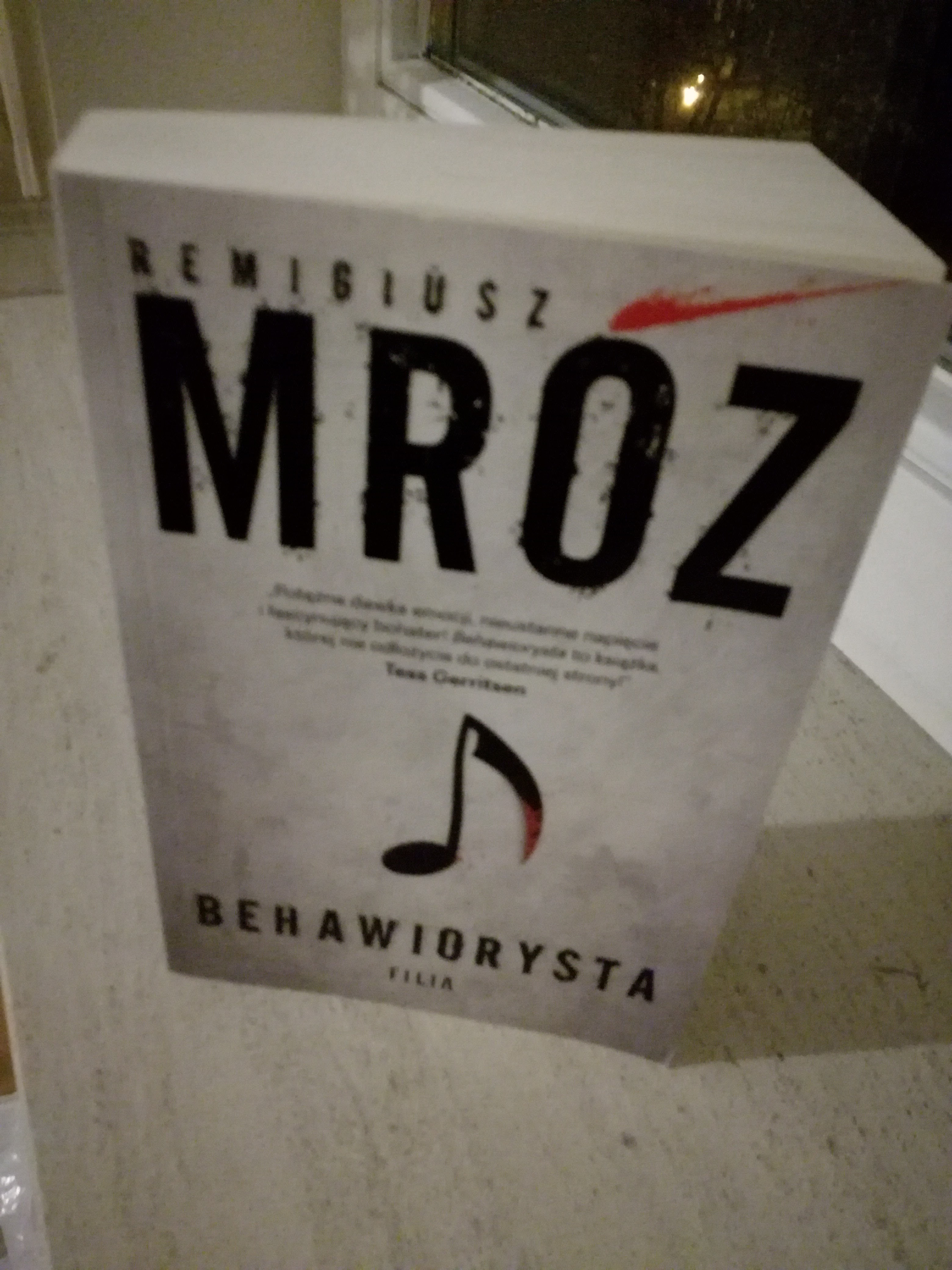 Behawiorysta – Remigiusz Mróz (recenzja gościnna)
