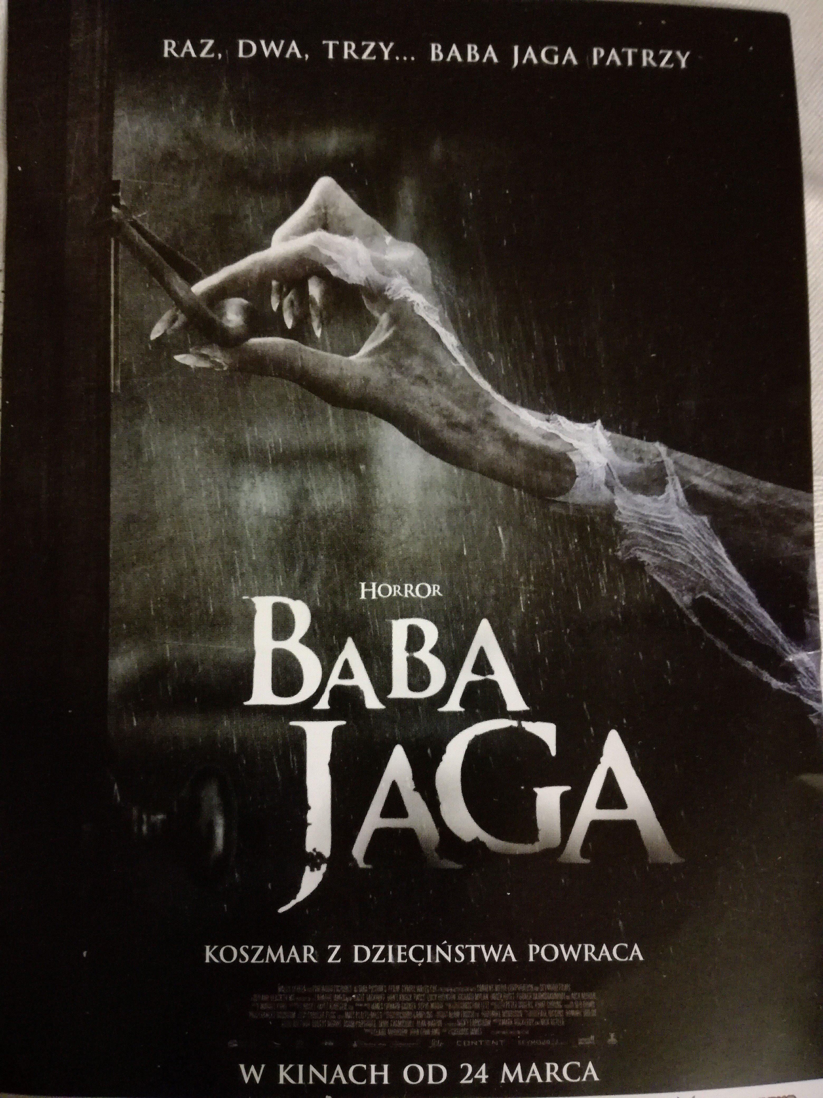 Raz, dwa, trzy Baba Jaga patrzy…