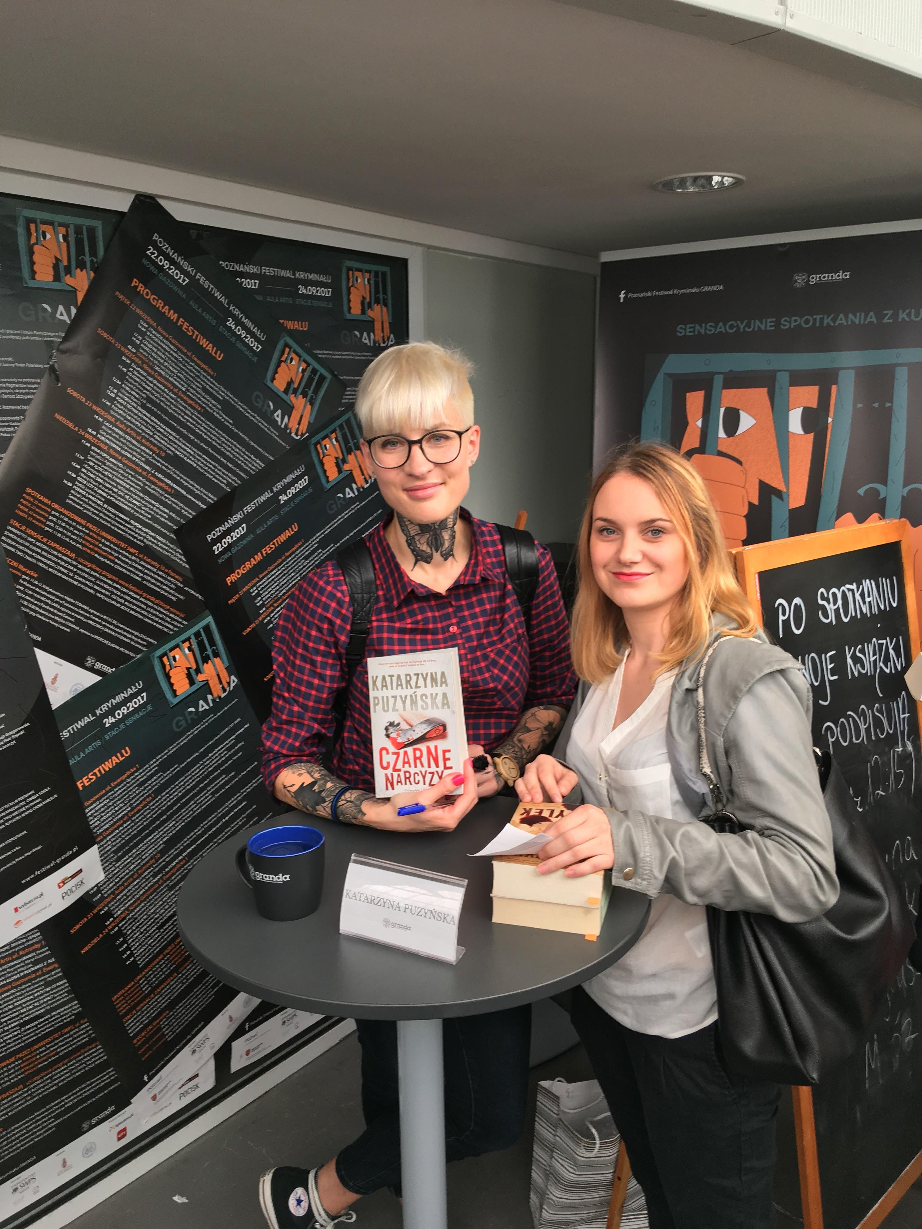 Konkurs – Wygraj jedną z dwóch książek Kasi Puzyńskiej z autografem :)
